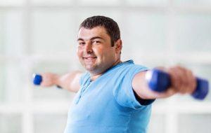 προπόνηση άντρας, απώλεια βάρους