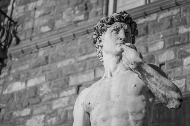 άγαλμα ενός άνδρα