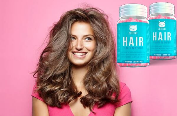Μαλλιά μαλλιών CuteCat