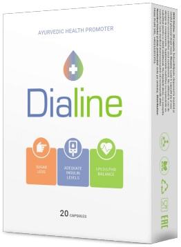 Κάψουλες DiaLine διαβήτη 20 Ελλάδα