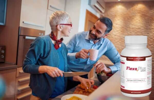 Flexa Plus Optima, ευτυχισμένο ζευγάρι στην κουζίνα