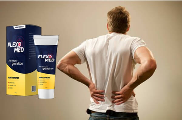 Flexomed, άνθρωπος με πόνο στην πλάτη