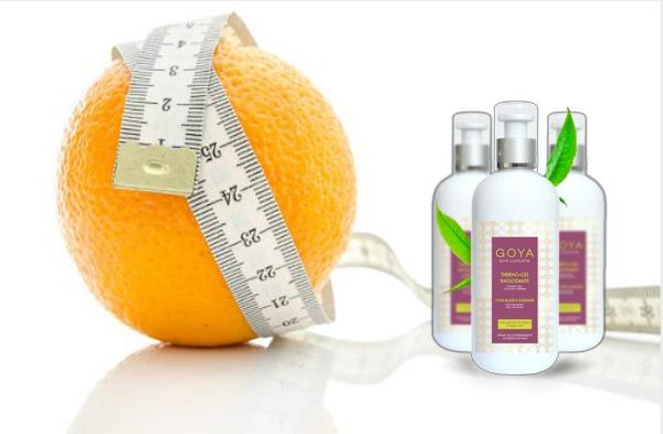 goya thermo-gel αντι-κυτταρίτιδα, πορτοκαλί, εκατοστό