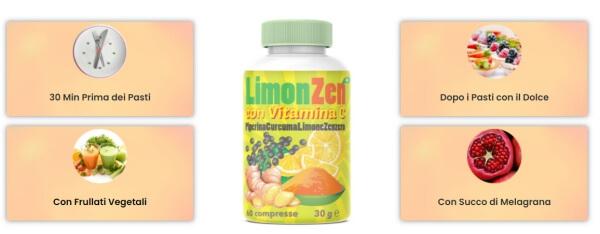 Επιδράσεις συστατικών Limon Zen