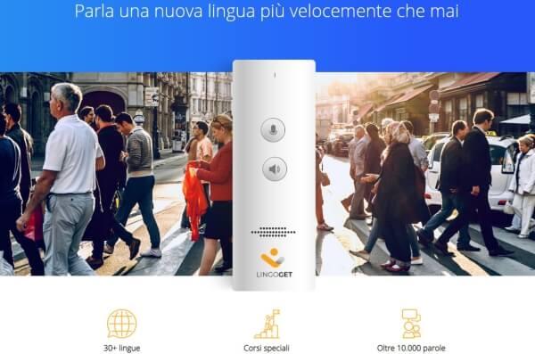Σύστημα LingoGet, συσκευή γλώσσας γλώσσας