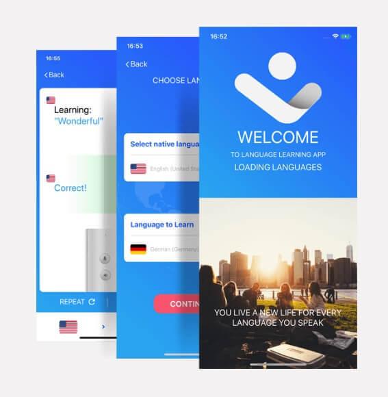 σύστημα, συσκευή γλώσσας, γλώσσες