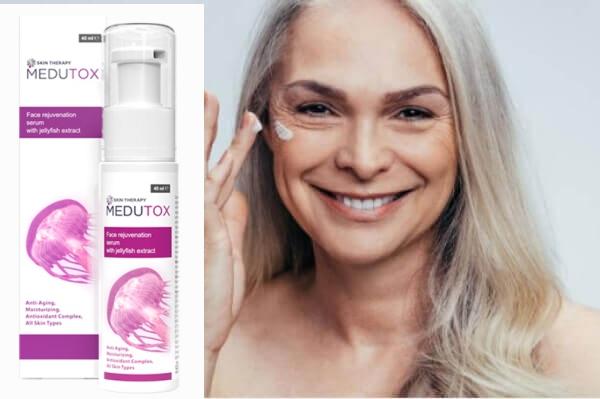 Medutox serum, γυναίκα, δέρμα