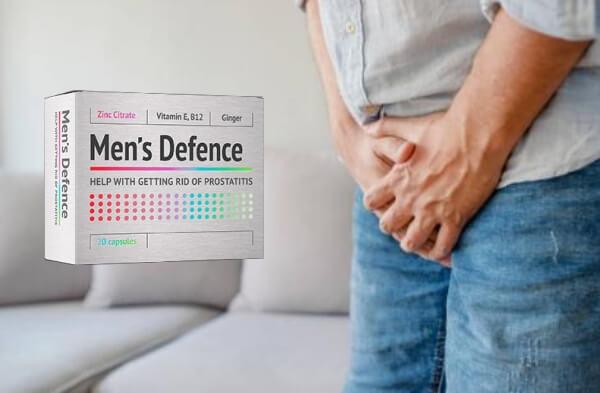 προστάτη, Άμυνα των ανδρών