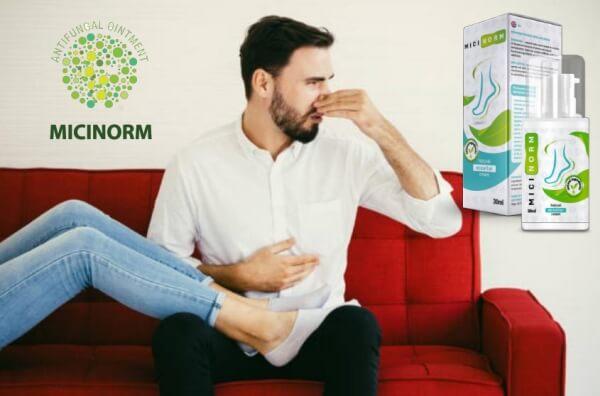 άντρας και γυναίκα με μυρωδικά πόδια