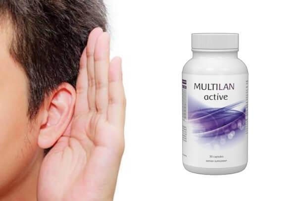 αυτί, ακοή, πολλαπλά ενεργά