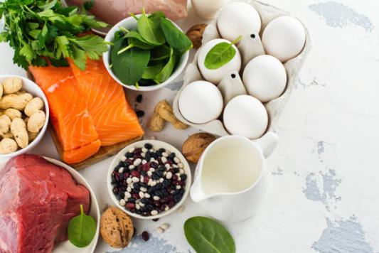 ψάρια, αυγά, δίαιτα κετό