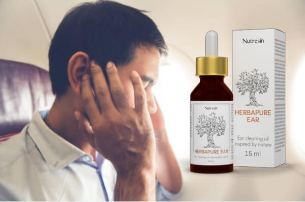 άνθρωπος με πόνο στο αυτί, nutresin herbapure αυτί