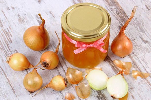 κρεμμύδι, μέλι και κουρκουμά