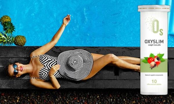 oxyslim γυναίκα στην πισίνα