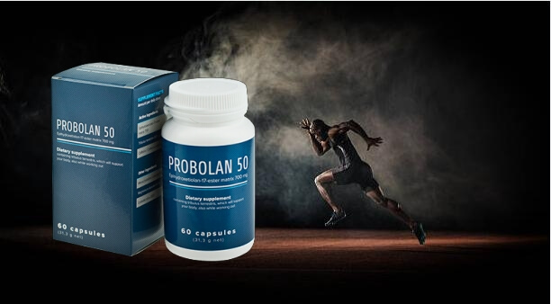 probolan 50, τρέχοντας άνθρωπος