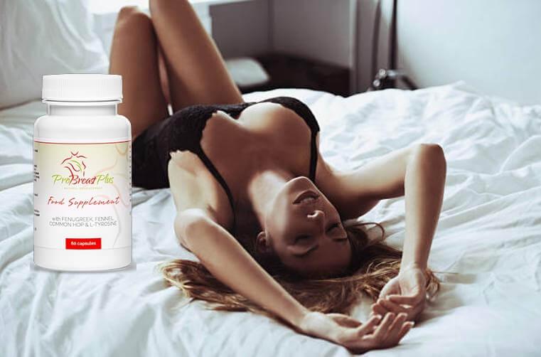 ProBreast Plus, γυναίκα στο κρεβάτι