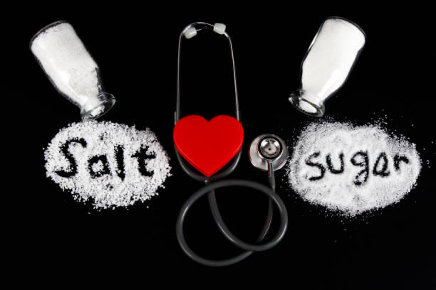 Αλάτι εναντίον ζάχαρης