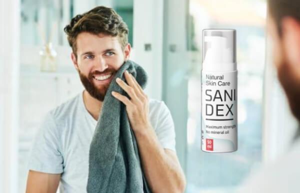 sanidex, κρέμα, άντρας